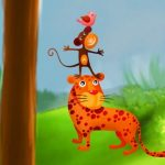 Animal Tower Puzzle
