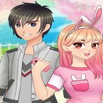 Anime High School Couple – First Date Makeover