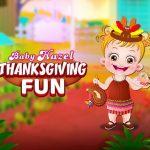 Baby Hazel ThanksGiving Fun