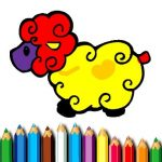 Baby Sheep Coloring Book