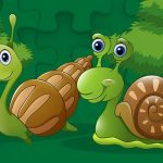 Cute Snails Jigsaw