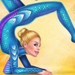Fantasy Gymnastics Girls Dress up