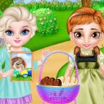 Frozen Baby Happy Easter