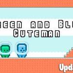 Green and Blue Cuteman