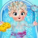 Ice Princess Baby Born