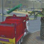 Island Clean Truck Garbage Sim