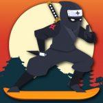 Lava And Ninja Skateboard