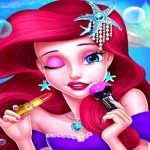 Mermaid Princess Makeup – Girl Fashion Salon