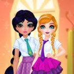 Princesses BFF Rush to School