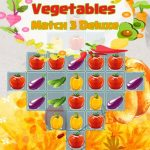 Vegetables Match 3 Deluxe