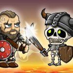 Vikings VS Skeletons Game